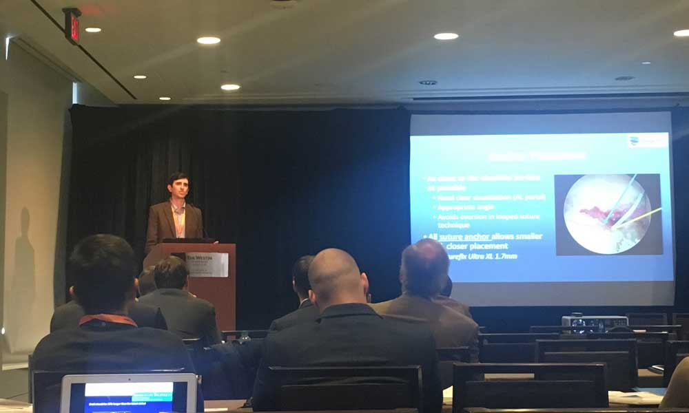 Dr. Boykin teaches at the 12th annual Vail Hip Symposium